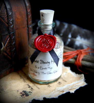 *Elemental Herb Mix* Potion Bottle