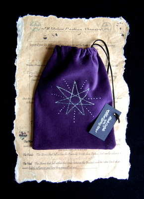 Tarot Bag with *Elven Star design*