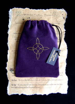 Tarot Bag with *Witches Knot design*