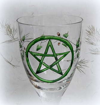 Chalice with Pentacle