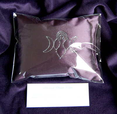 Dream Pillow *Goddess design* for Prophetic Dreams