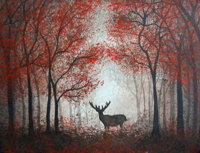 'Lord of the Forest' Original Acrylic Painting