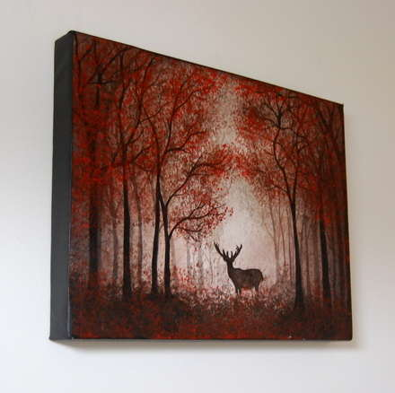 Lord of the Forest Painting