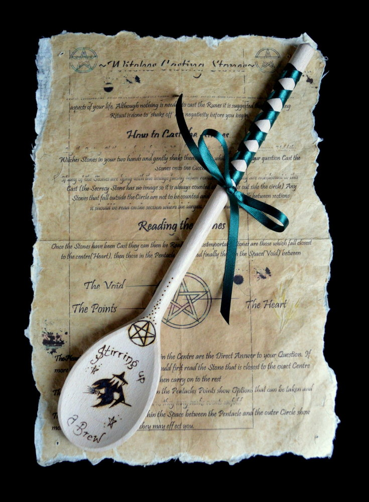 Witches Spoon *Stirring up a Brew!*