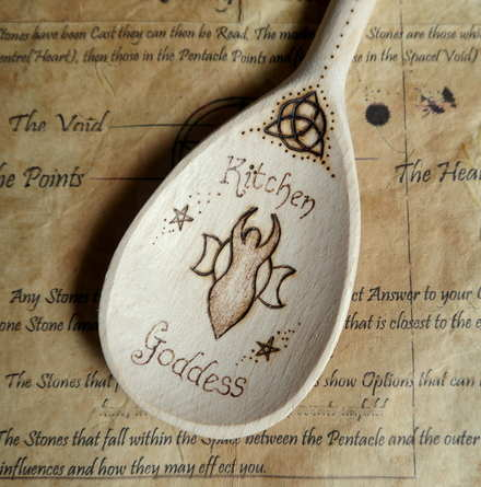 Goddess Spoon