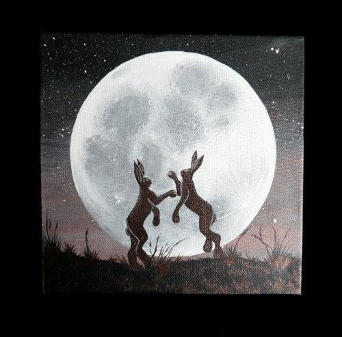 'Boxing' Original Acrylic Painting