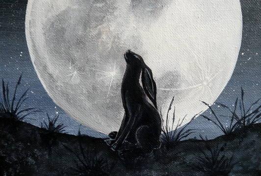 Stargazer painting