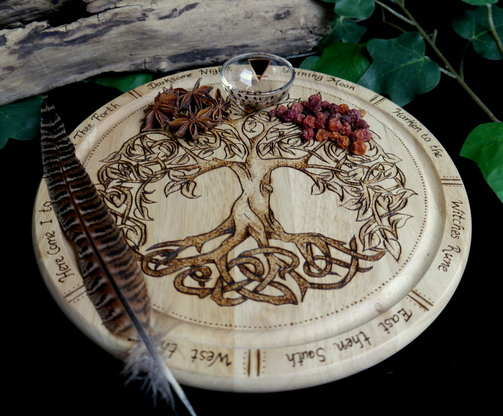 Tree of Life Altar Plate