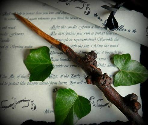 Apple Wood wand