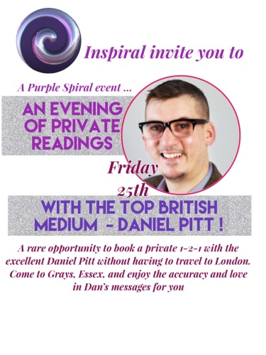 An Evening of Readings With Daniel Pitt