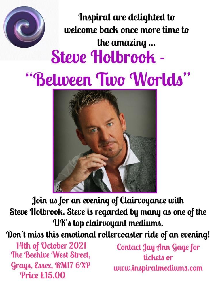 "Steve Holbrook - ""Between Two Worlds"""