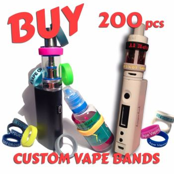 1. VAP-O-RING (VAPE BANDS) X 200 PCS