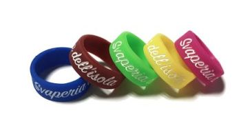 * Svaperia Custom Printed Silicone Vape Bands by www.promo-bands.co.uk