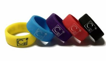 C21 - Custom Printed Vape Bands by Promo-Bands.co.uk