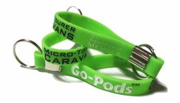 Go-Pods Micro Tourer 2 Berth Caravans - Custom Printed Keyrings by Promo-Ba