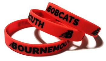Bournemouth Bobcats - Custom Printed Wristbands by Promo-Bands.co.uk
