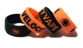 Velocity Vape - Custom Printed Vape Bands by Promo-Bands.co.uk