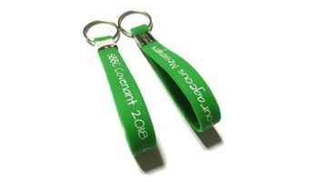 SBBC Covenant 2 - Custom Printed Silicone Keyrings by Promo-Bands.co.uk