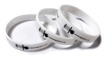 The Swansong Project - Custom Printed Silicone Wristbands by www.Promo-Band