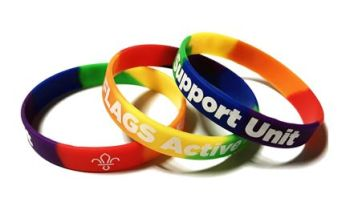 FLAGS Support Unit - Custom Printed Rainbow Pride LGBTQ