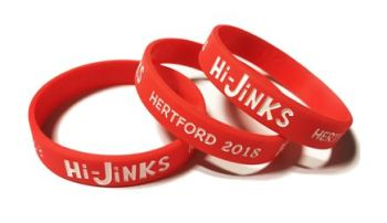 Hi-Jinks - Custom Printed Acting Group Theatre Wristbands by Promo-Bands.co