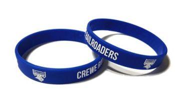 Crewe Railroaders - Custom Printed Wristbands by Promo-Bands.co.uk