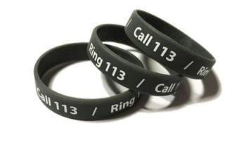 DNE Pharma - Custom Printed Medical Wristbands by Promo-Bands.co.uk
