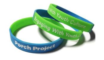 Porch Project 2- Custom Printed Wristbands by Promo-Bands.co.uk
