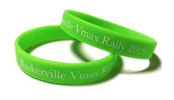 Baskerville VMax Rally 2019 - Custom Printed Wristbands by Promo-Bands.co.u