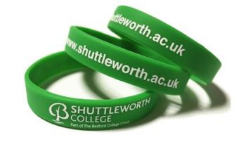 Shuttleworth College - Custom Printed Wristbands by Promo-Bands.co.uk