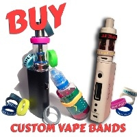 A3) Customisable Silicone Vape Tank Bands