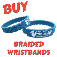 A4) Customisable Exclusive Braided Wristbands