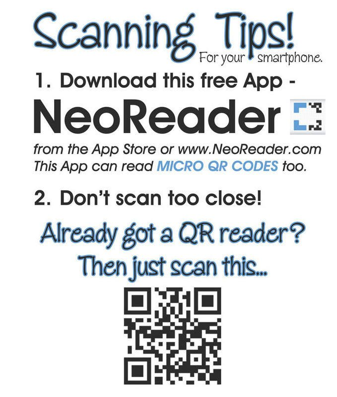 SCANaBAND Scanning Tips