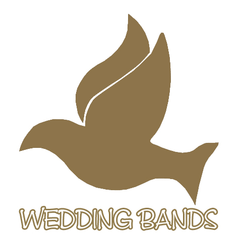 Wedding bands silicon wristbands