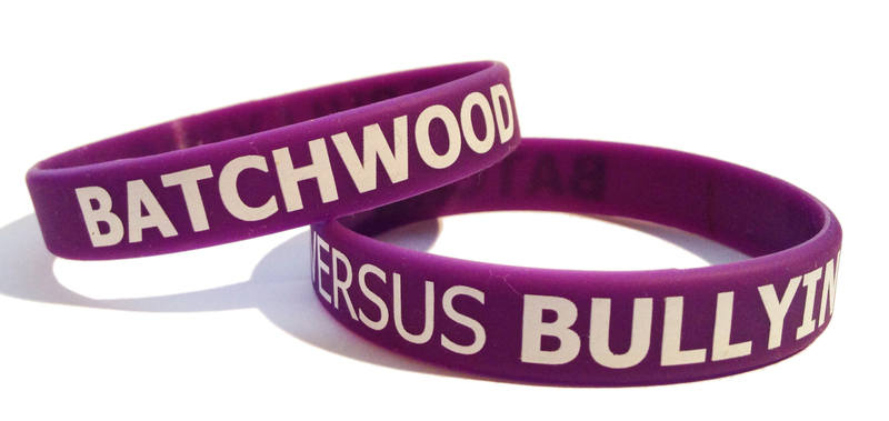 A11 Anti Bullying wristbands - www.Promo-Bands.co.uk for silicone wristband