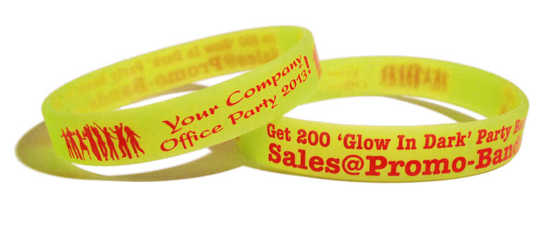 Party Bands Wristbands www.Promo-Bands.co.uk