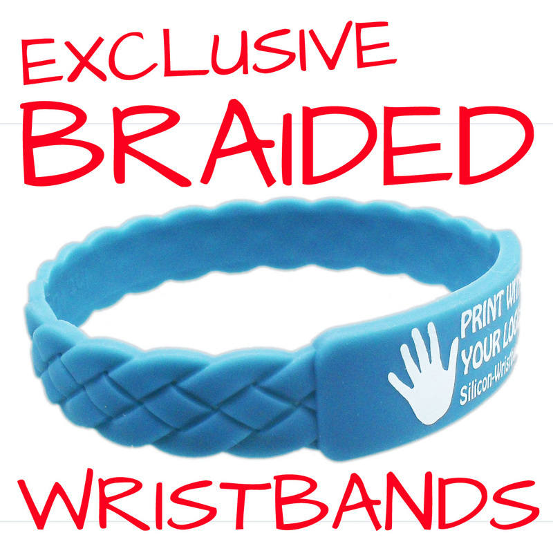 BRAIDED WRISTBANDS WWW.PROMO-BANDS.CO.UK