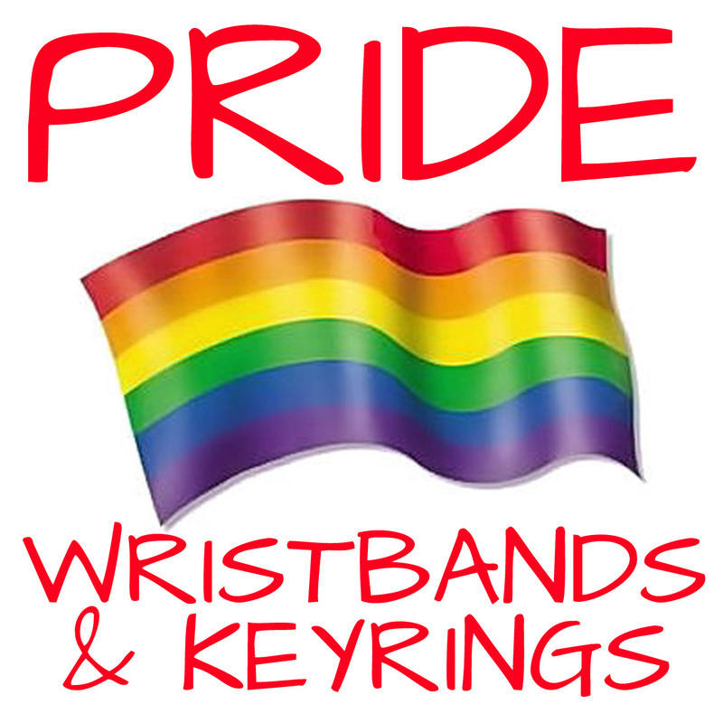 PRIDE WRISTBANDS WWW.PROMO-BANDS.CO.UK