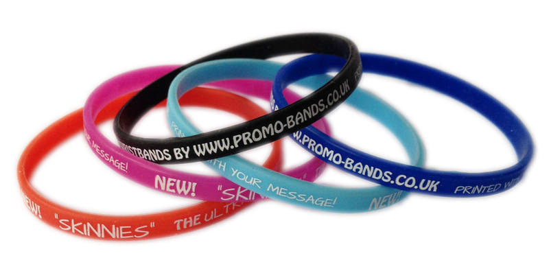 SKINNIES - 6mm bands by www.Promo-Bands.co.uk