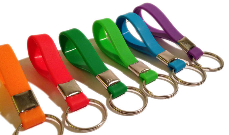 Mini-Loops Key rings 1 www.Promo-Bands.co.uk.