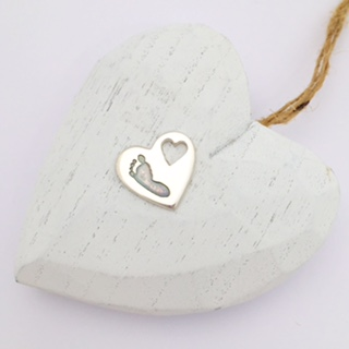 Heart imprint pendant