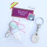 Make your own fingerprint keyring kit