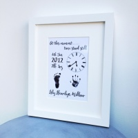 At this moment, time stood still print