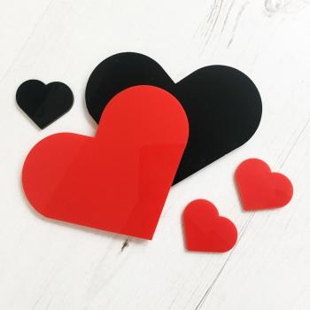 Flatlay heart