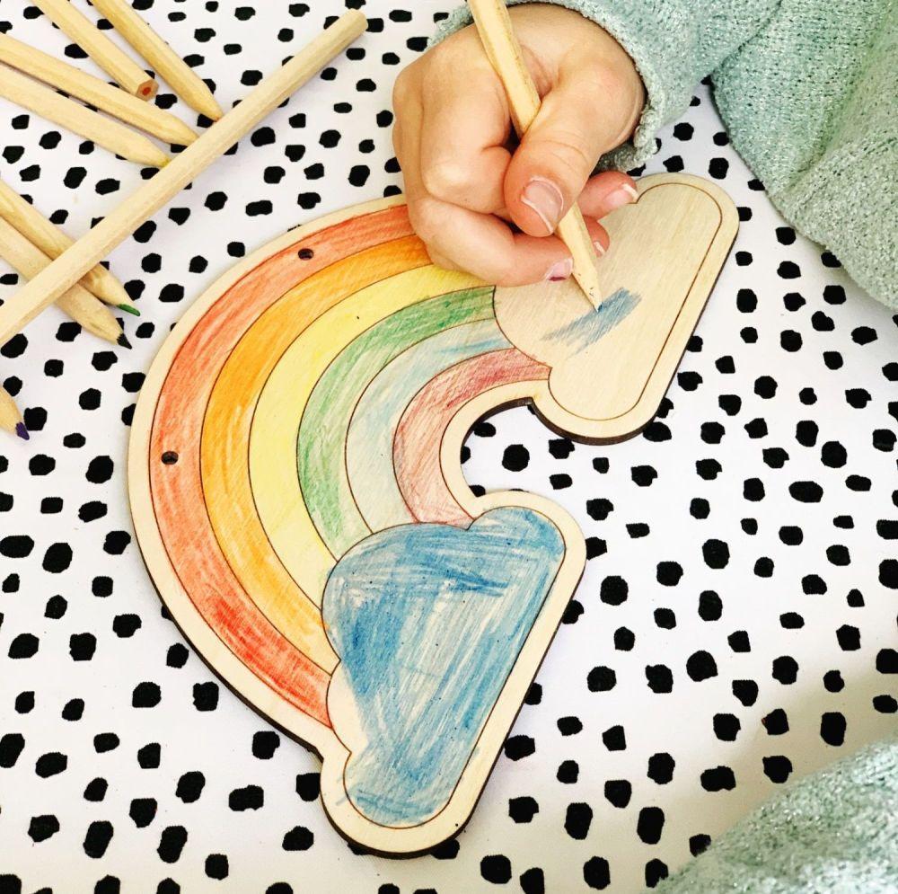 Colour your own rainbow