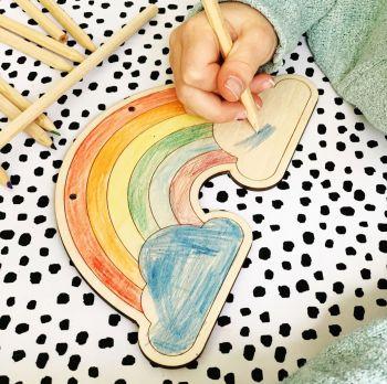 Single colour your own rainbow