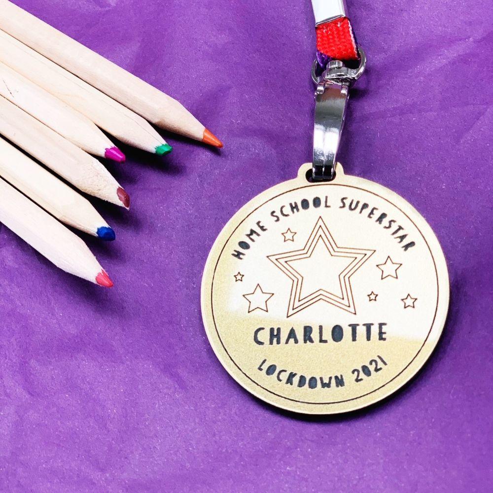 2021 home school superstar medal