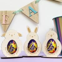 Easter animal egg holder