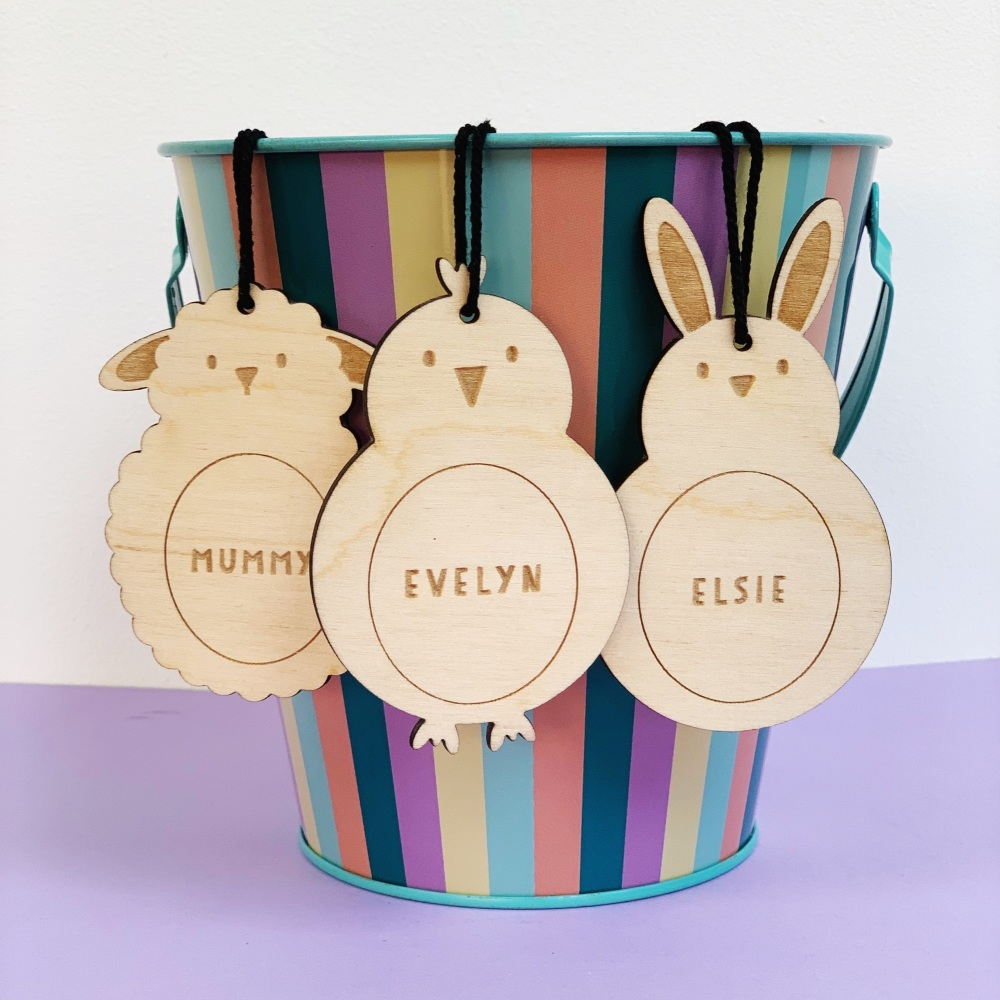 Easter animal decoration