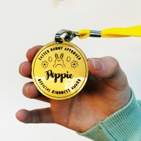 Personalised Easter kindness medal